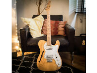1986 MIJ '72 Reissue Telecaster Thinline with USA Pickups - RARE
