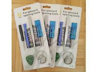 48 x iPhone 6 5 4 Repair Tool Sets - Pentalobe Screwdriver Tweezers Phillips - Fix Joblot Wholesale