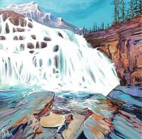 EXTRA LARGE ORIGINAL PAINTING by LOCAL CALGARY ARTIST