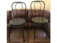 2 X Dining/Garden Chairs. Free Delivery Up To 10 Miles From Ipswich