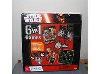 BNIB Star Wars 6-in-1 board games Disney