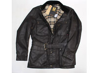 """Belstaff Rallymaster 350 Anniversary Collection (NEW) Size Large 42/44"""" Chest"""