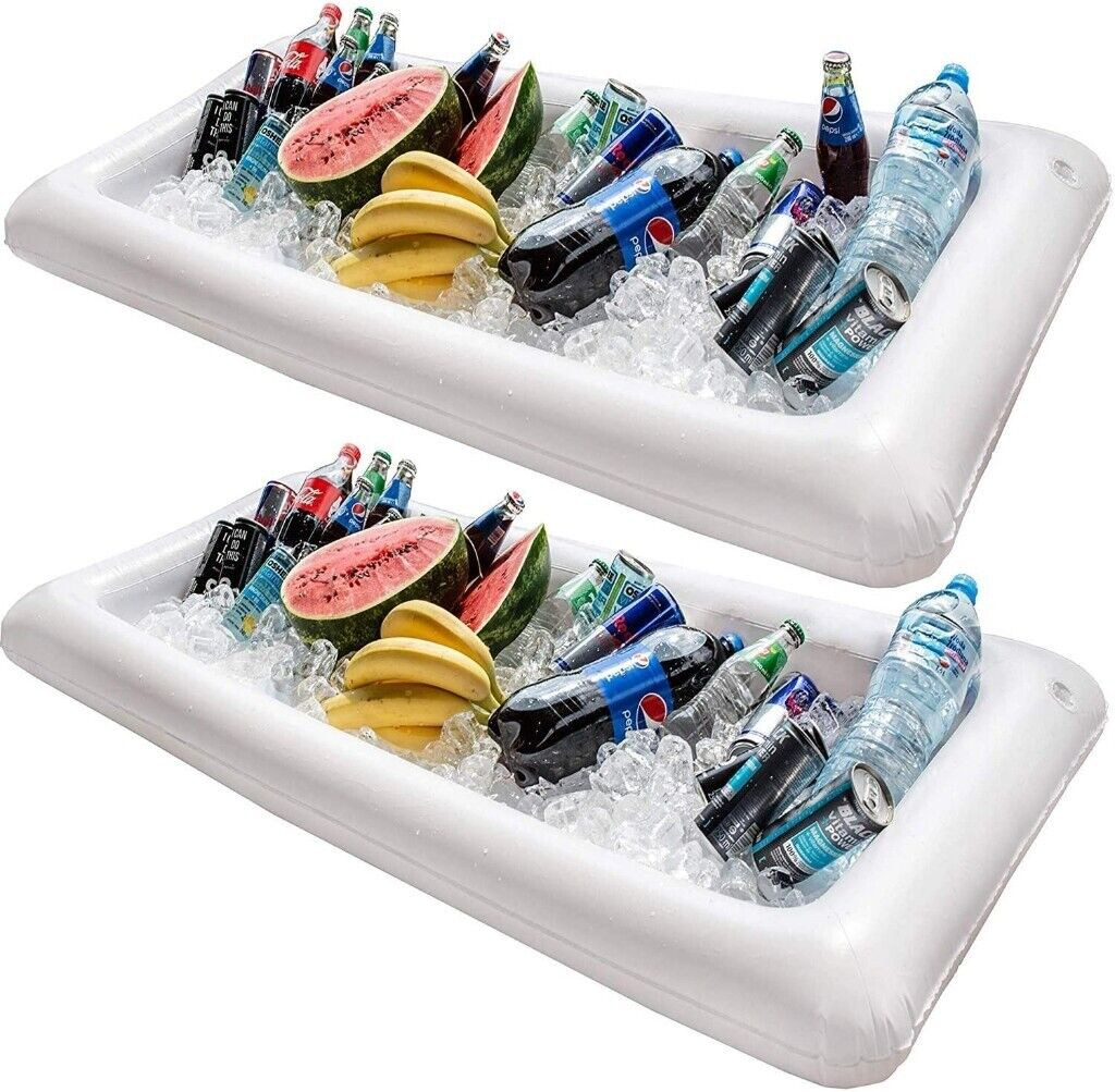 NEW Inflatable Cooler Buffet Serving Bar 2 Pack