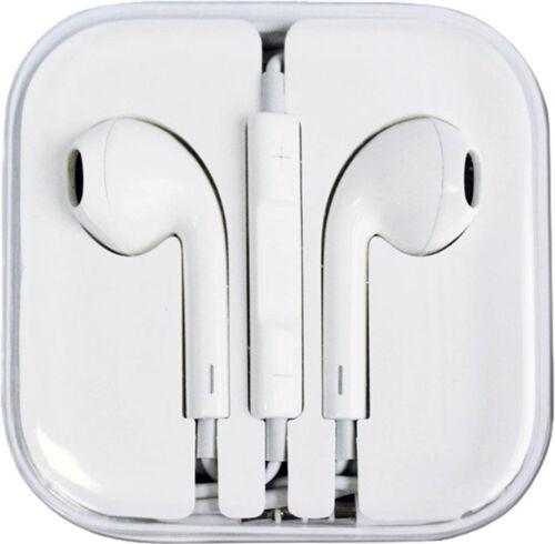 2019 Volume Control Mic White Headphone Earphone for iPhone