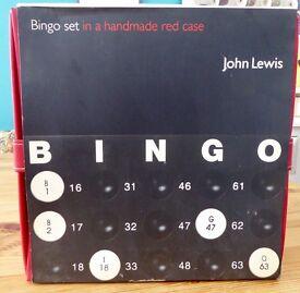 Bingo Set in red case (John Lewis)