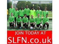 Players wanted for 11 aside football team, free football JOIN LONDON TEAM SOCCER