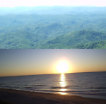 Between the NC Mountains & Beaches