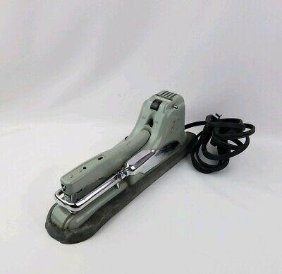Vintage Swingline Electric Stapler Model 66-a Automatic Heavy Duty Industrial
