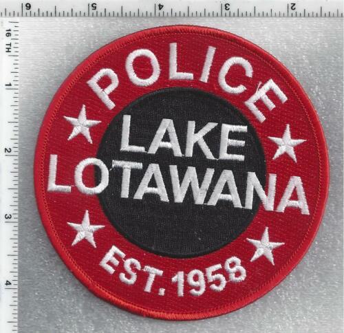 Lake Lotawana Police (Missouri) 2nd Issue Shoulder Patch