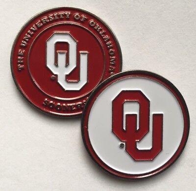 New University of Oklahoma Sooners Golf Ball Marker (Oklahoma Sooners Golf Ball)