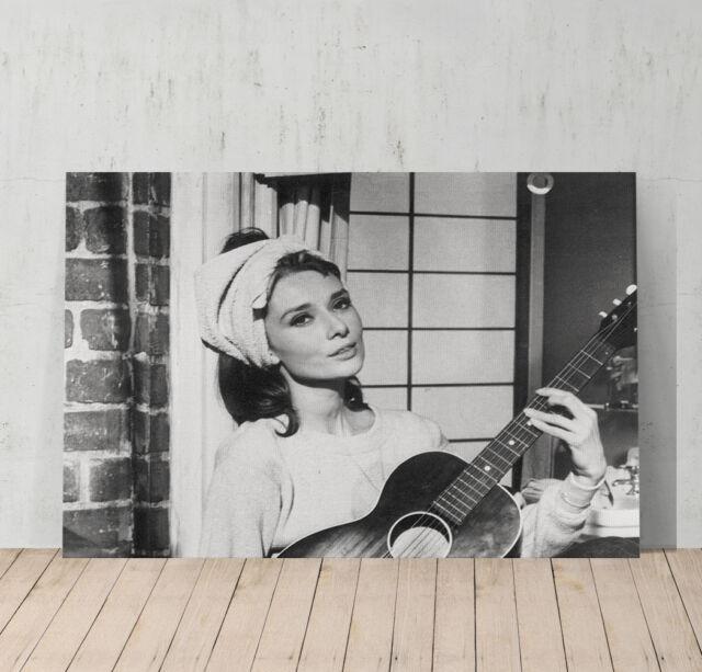 Audrey Hepburn Wall Art audrey hepburn canvas print wall art home decor framed xmax