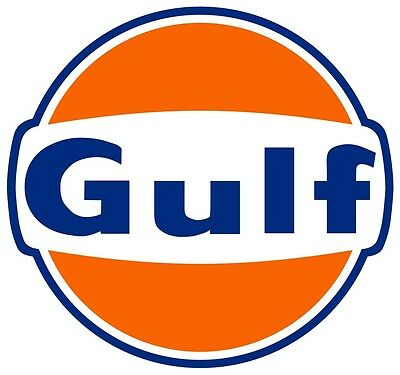 Home Decoration - Gulf Oil Gasoline Vinyl Decal / Sticker ** 5 Sizes **