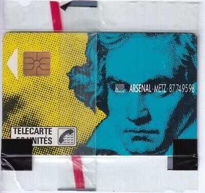 FRANCE TELECARTE / PHONECARD .. 50U F48 GEM1B BEETHOVEN 109 NSB/NEUVE C.140€