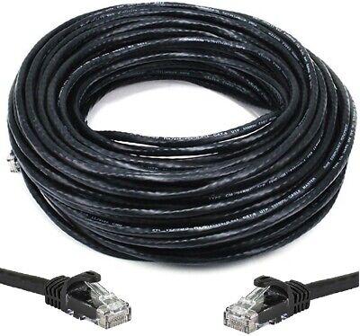 200 FT CAT6 Outdoor Waterproof Direct Burial UV Resistant Ethernet Network (Outdoor Network Cable)