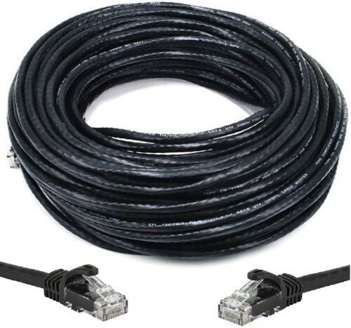 150 FT CAT6 Outdoor Waterproof Direct Burial UV Resistant Ethernet Network Cable