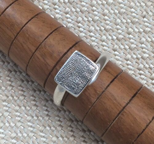 Sterling Silver Ring Blank 8x10mm Pad Base Adjustable Style .925 Quality Finding