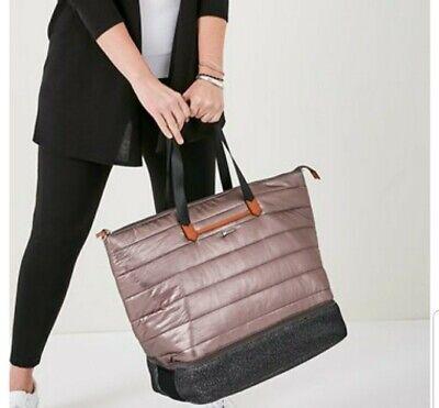 STELLA & DOT Travel Crush it Bag Rose-gold quilted Womens Handbags Shoulder