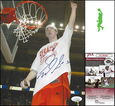 GERRY MCNAMARA AUTOGRAPHED SIGNED 8X10 PHOTO PICTURE SYRACUSE BASKETBALL JSA  COA 070cd9d38