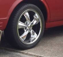 Foose 5-stud 17x7 Mags and tyres Ford / Mazda / Honda / Toyota Tingalpa Brisbane South East Preview