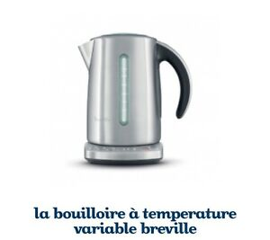 Bouilloire à temperature variable breville-