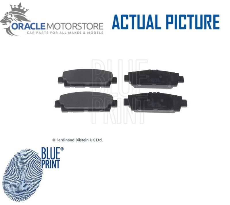NEW BLUE PRINT REAR BRAKE PADS SET BRAKING PADS GENUINE OE QUALITY ADT34253