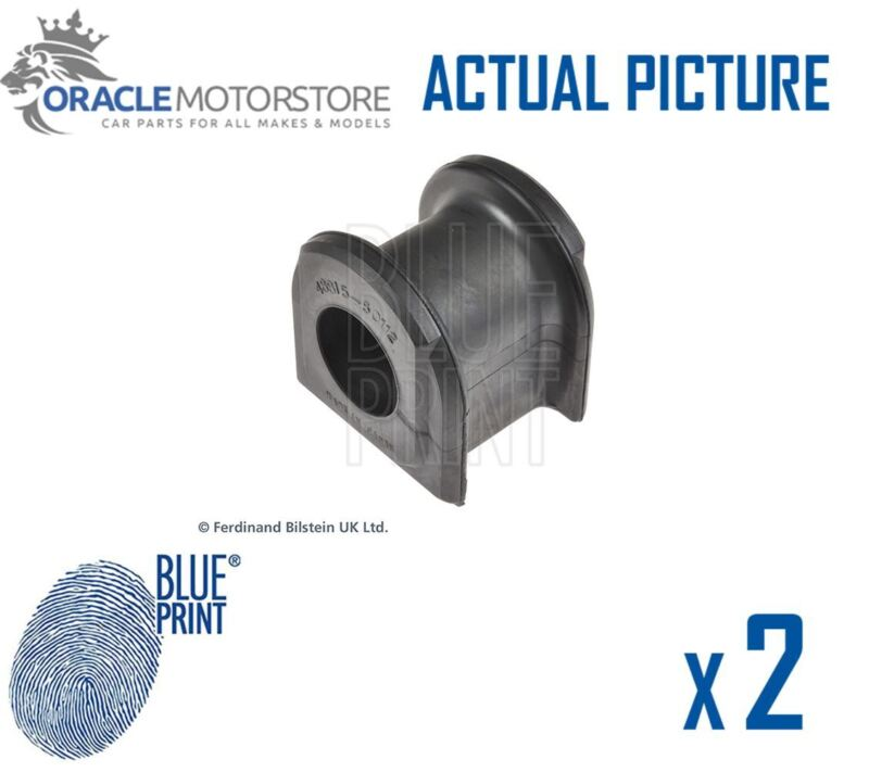 2 x NEW BLUE PRINT FRONT ANTI-ROLL BAR STABILISER BUSH KIT OE QUALITY ADT380136