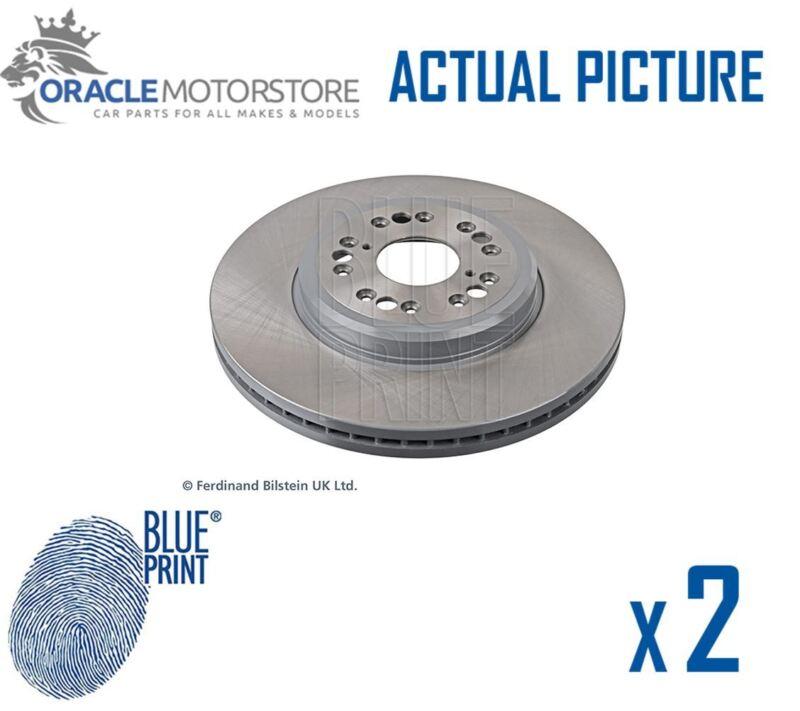 2 x NEW BLUE PRINT FRONT BRAKE DISCS SET BRAKING DISCS PAIR OE QUALITY ADT34388