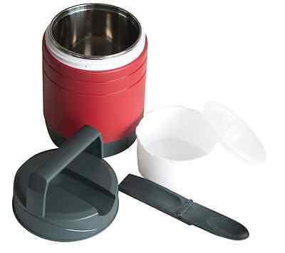 Isolier-Speisegefäß, Isoliergefäß m. Edelstahleinsatz und Kunststoffbehälter,NEU