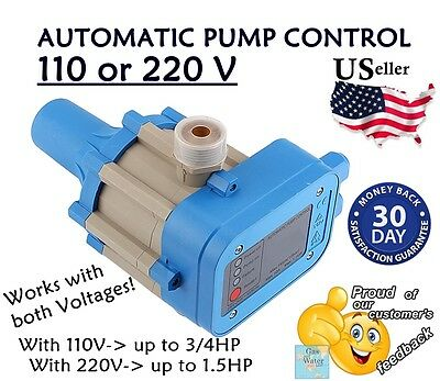 Automatic Switch - Automatic Electronic Switch Control Water Pump Pressure Controller 110 or 220V