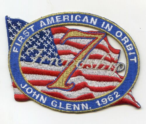 John Glenn 1962 First American in Orbit Patch - Free Shipping from U.S.