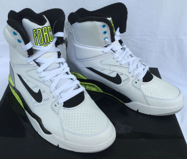 Nike Air Command Force 684715-100 Retro Billy Hoyle Basketball Shoes Mens 10 new
