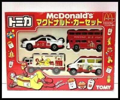 TOMICA McDonald's 4 MODELS SET MAZDA BONGO FRIENDEE SKYLINE GT-R R32 LONDON BUS for sale  Shipping to Nigeria