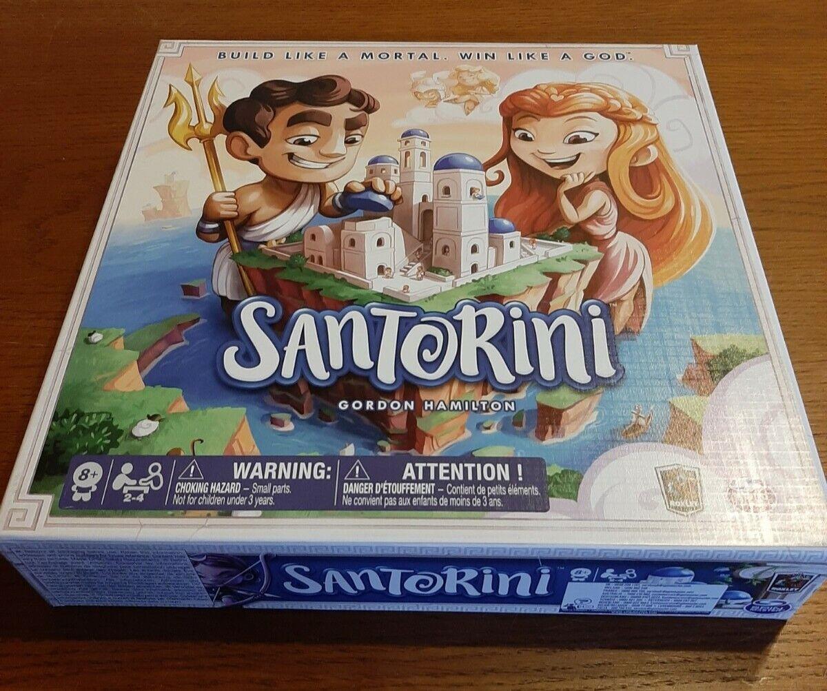 Santorini Gioco Brettspiel gebraucht sehr gut erhaltenab 8 Jahren für 2-4 Spiel