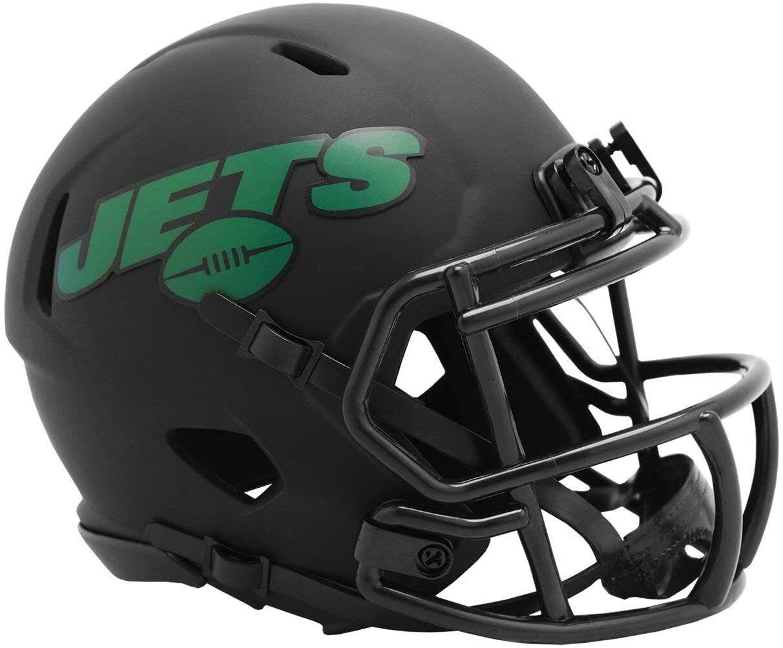 NFL New York Jets NY Eclipse Mini Helm Speed Riddell Footballhelm Football