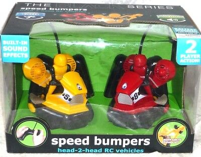(Remote control Bumper Cars Black Series Speed Bumpers Head-To-Head R/C  )