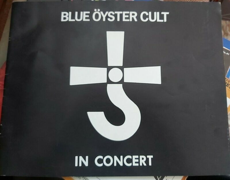 Blue Oyster Cult 1978, Tour Program