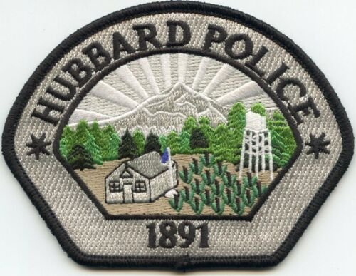 HUBBARD OREGON OR POLICE PATCH