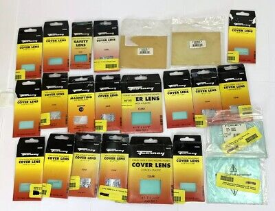 Lot Of 22 Forney Welding Lens Covers Various Types And Sizes