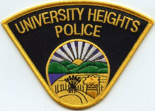 UNIVERSITY HEIGHTS OHIO OH POLICE PATCH