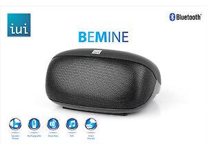 iUi-BeMine-Portable-Bluetooth-Speaker-Wireless-Audio-Boombox-Bass-Black-Freeship