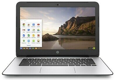 HP Chromebook 14 G4 Celeron N2840 2.16GHZ 4GB  16GB SSD Webcam Chrome OS Black