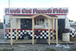 CHIP WAGON FOOD TRUCK FOR SALE