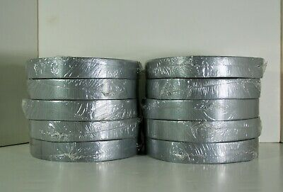 Nashau 398 Silver Professional Grade Duct Tape - 1 X 60 Yds. 10 Rolls