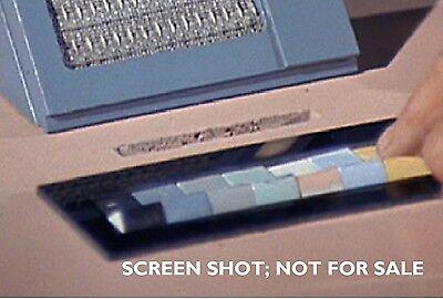 Star Trek Tos  Black Bezel  Acrylic  Chair Or Briefing Room