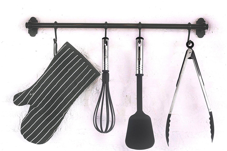 Kitchen Utensils Set 23 Piece Nylon Utinsels Stainless Steel Cooking Utensil Set