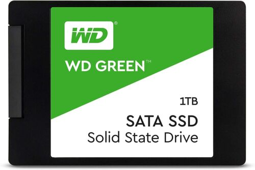 "1TB WD Green Internal PC SSD Solid State Drive - SATA III 6 Gb/s, 2.5""/7mm"