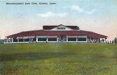 Old Postcard, Shennecossett Golf Club, Groton, Conn.