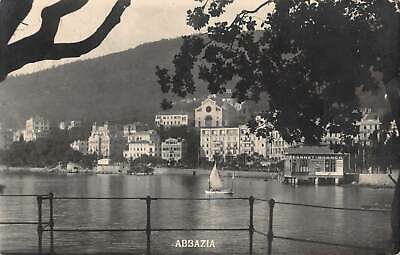 ABBAZIA, OPATIJA, CROATIA, 5 PC's, VARIOUS TOWN & HARBOR SCENES, c 1902-14