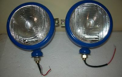 Ford Tractor Lh Rh Head Light Set - Blue Colour