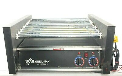 Star Grill-max Model 30 Roller Grill 120v 1150w Commercial Hotdog Cooker